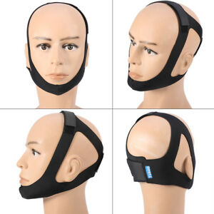 Yosoo Anti Stop Chin Strap Belt Support Quiet Sleep Stop Snore Device 663862241570