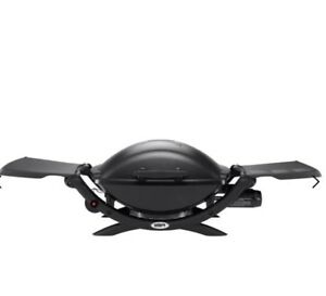 Weber-Q-Q2000-LPG-BBQ-Black-With-Stand-amp-Accessories