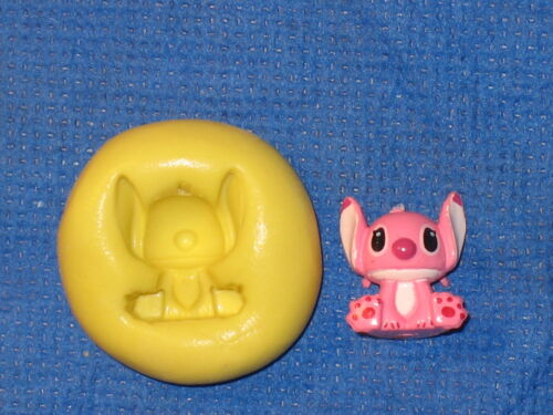 Stitch Character Silicone Push Mold 657 For Cake Design Craft Chocolate Resin