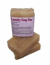 Laundry Bar Soap designed for D.I.Y. Laundry Soap! INCLUDES RECIPE! by MJR Soaps
