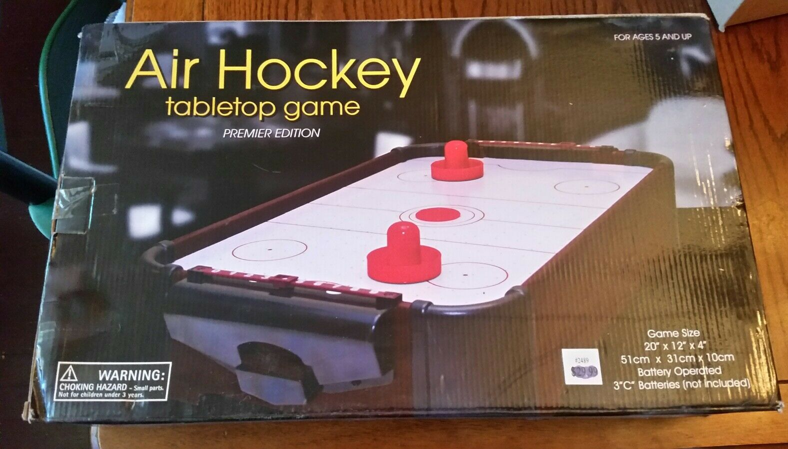Westminster Air Hockey Tabletop Game Item # 2489 | EBay