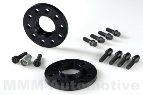 H/&r Abe ensanchamientos negro 30mm mercedes GLC-clase placas de pista 204x