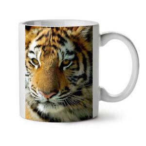 Tiger Photo Nature Animal NEW White Tea Coffee Mug 11 oz | Wellcoda