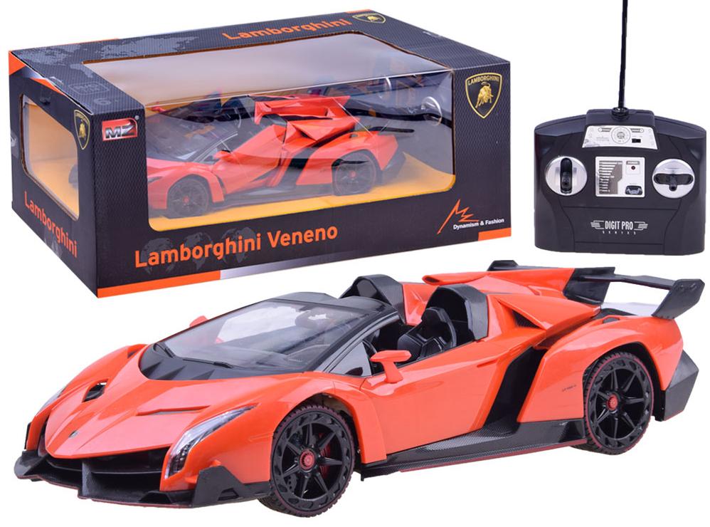 Lamborghini Veneno 1 14 Auto mit Fernbedienung Fernbedienung Fernbedienung Ferngesteuertes + akku +Ladegerät d6ab7f