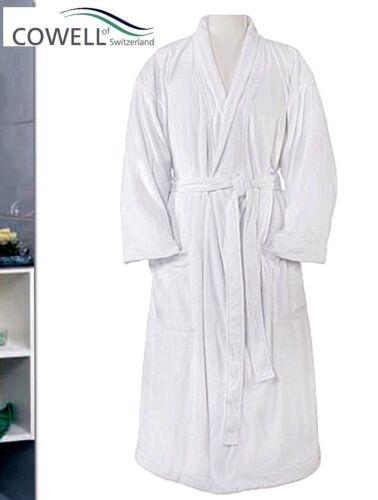 Cowell più facilmente in microfibra Wellness Sauna Cappotto Cappotto Bagno Unisex S M L