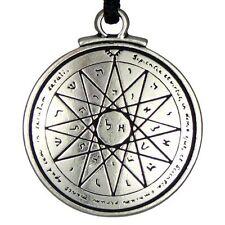 Wiccan Jewelry Talisman of Wisdom Key of Solomon Pentacle Seal Pendant Kabbalah