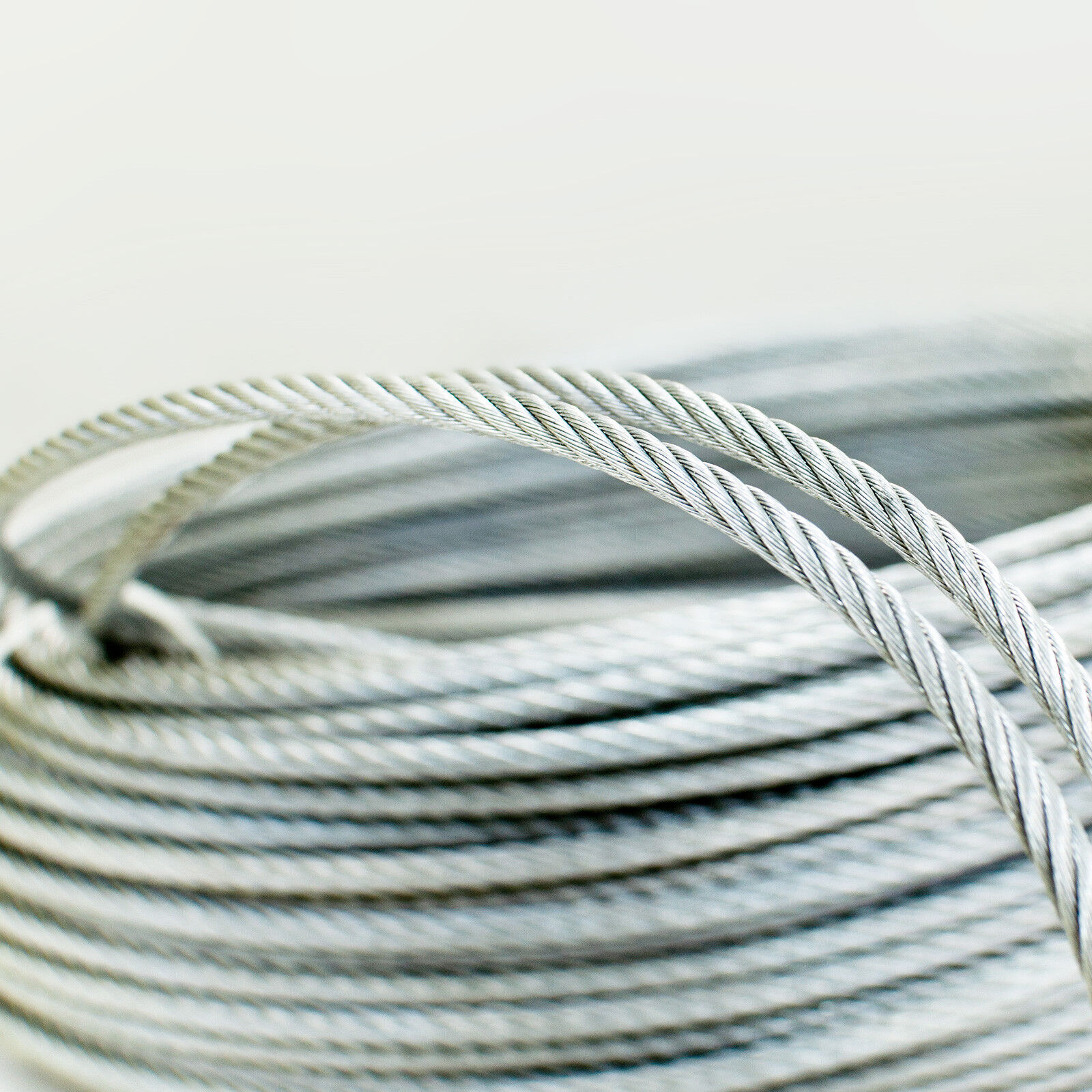 Edelstahlseil 1mm bis 8mm Stahlseil Edelstahl Drahtseil V4A Inox Seile rostfrei