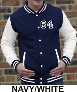 Personalised Adults Varsity Jacket vBdVlzN