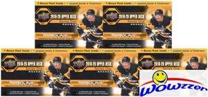5-2019-20-Upper-Deck-Series-1-Hockey-HUGE-Factory-Sealed-Blaster-Box-YOUNG-GUN