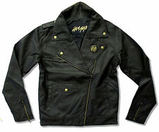LADY GAGA  BORN THIS WAY BLACK FAUX LEATHER JACKET NEW OFFICIAL LADIES SMALL S