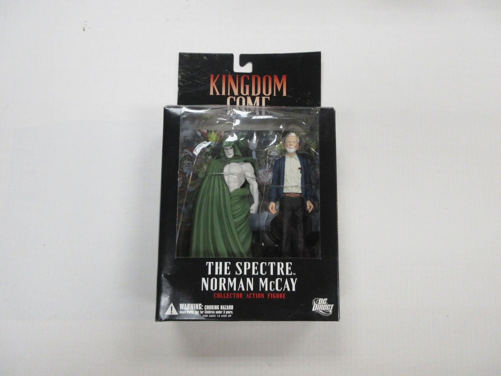 DC DIRECT KINGDOM COME THE SPECTRE NORMAN MCCAY FIGURE W/ BOX