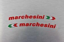 Ducati 916 996 998 999 1098 1199 Hypermotard Marchesini adesivo rosso