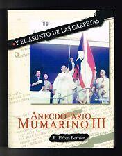 R Elfren Bernier Anecdotario Mumarino III El Asunto De Las Carpetas Puerto Rico