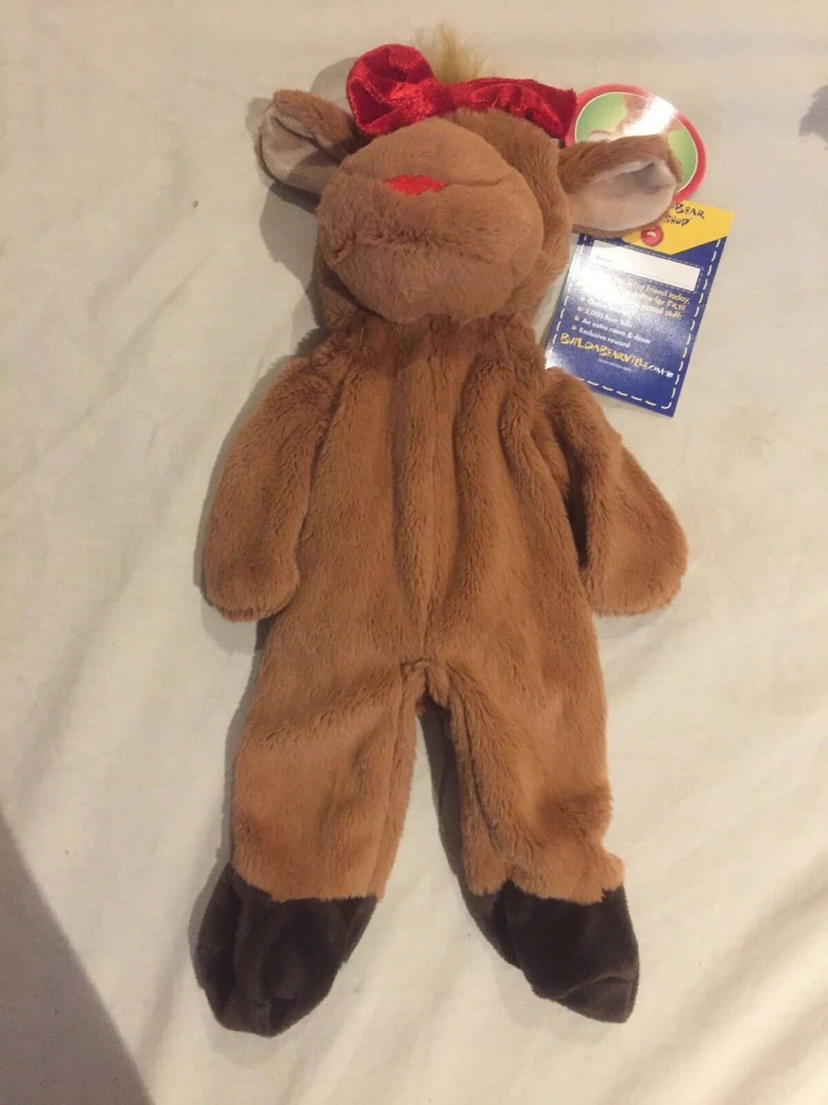 Build a Bear Holly Brand Nuovo With Tags Never Stuffed