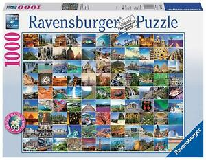 Ravensburger-Jigsaw-Puzzle-99-BEAUTIFUL-PLACES-ON-EARTH-1000-Piece