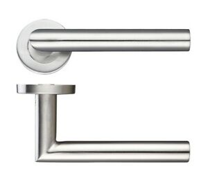 Mitred Bar Lever on rose Internal door handles sets of 1-20 Stainless Steel