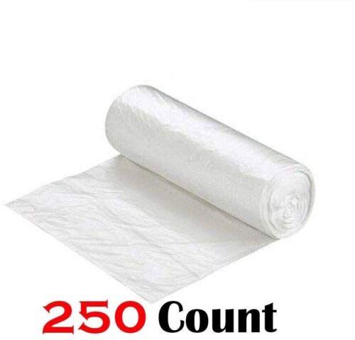 "250 Rolls Ox Plastics 45-50 Gallon Trash Can Liner Bags High Density 40""x48"""