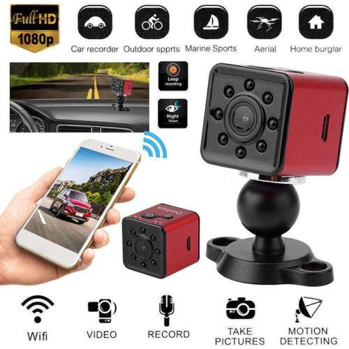 Mini caméra SQ13 Full HD 1080P étanche WiFi Sport Action Caméscope rotatif
