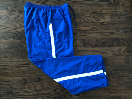 Vintage 90s Nike Blue White Windbreaker Sweatpants