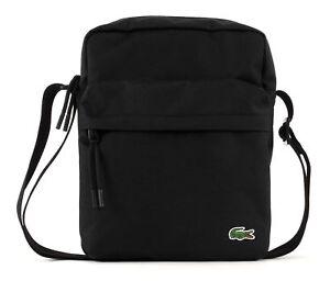 LACOSTE-Neocroc-Crossover-Bag-Tasche-Umhaengetasche-Black-Schwarz