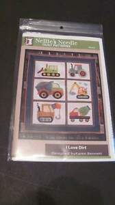 I Love Dirt by Nellie's Needle Quilt Pattern New