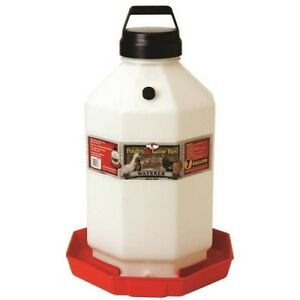 Miller-Manufacturing-PPF7-7-Gallon-Plastic-Poultry-Waterer-Red