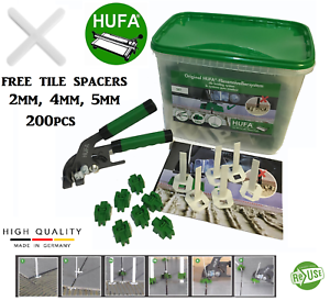 Tile Levelling Spacers and clips for REUSABLE Levelling System FREE SPACERS