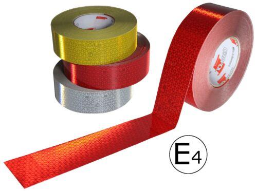 3m x 5cm REFLEXBAND KONTURMARKIERUNG REFLEKTIERENDES KLEBEBAND geeignet für LKW