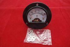 Ac 0 100v Round Analog Voltmeter Voltage Panel Meter Dia 664mm Dh52