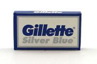 Gillette Silver Blue Double Edge Razor Blades- 25 Blades - Made In Russia