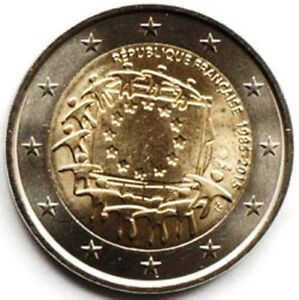 France 2 euro 2015 30th Anniversary of the Flag of Europe (#1985)