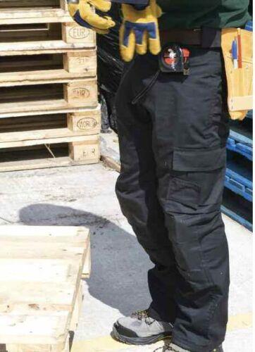 "50/"" vita e gamba corta Regatta Professional Premium Workwear Pantaloni Blu Navy"