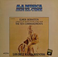 """OST - THE TEN COMMANDMENTS - ELMER BERNSTEIN  LP 12""""  (S 292)"""