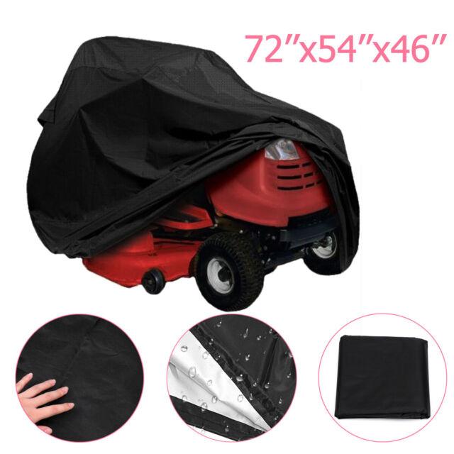 55'' Riding Lawn Mower Tractor Cover Garden Outdoor Yard UV Protector