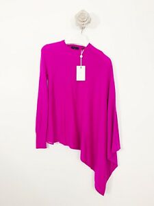 Ted-Baker-New-With-Tags-Slanted-Long-Sleeve-Top-Jumper-Pull-Over-Sz-0-Occasion
