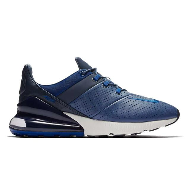 dbf3457f58 Men's Nike Air Max 270 Premium Running Shoes Diffused Blue Ao8283 ...