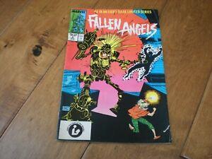 FALLEN ANGELS #6 (1987 Series) Marvel Comics