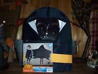 Disney Star Wars Hooded Towel For Kids 22 Inches X 51 Inches Cotton Bath Towel