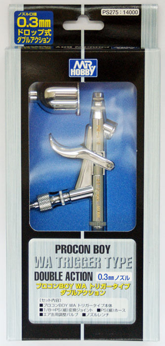 GSI Creos Mr.Hobby PS275 PROCON BOY WA Trigger Type Double Action 0.3mm Nozzle