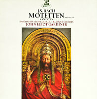 J.S.BACH MOTETTEN KANTATEN -GARDINER-MONTEVERDI CHOR -ERATO-2LP´S  (c907)