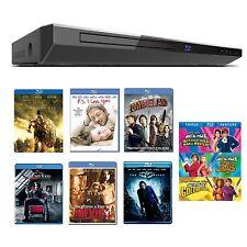 Toshiba BDX2150 Blu-Ray Player + 9 Blu-Ray Movies - Netflix - Pandora - YouTube