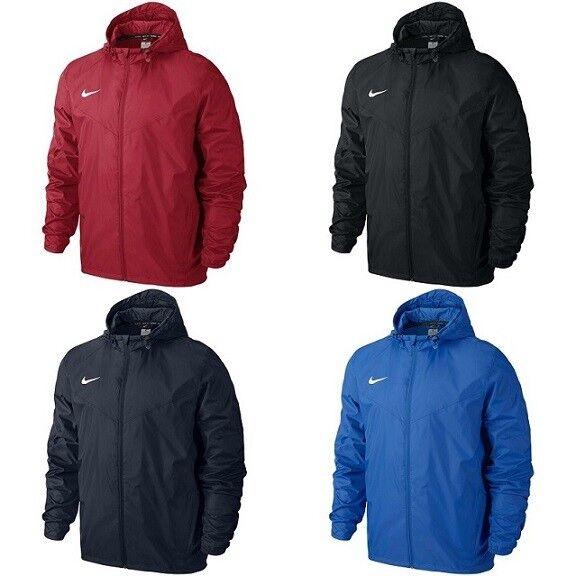 41938b01a Mens Senior Kids Junior Nike Team Sideline Rain Jacket ZIPPED ...