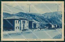 Belluno Alano di Piave Municipio cartolina QT1322