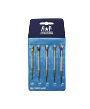 64f6a2997 For Professional Top Quality Swiss AF Watch flat head blade Screwdriver 5  pc Set