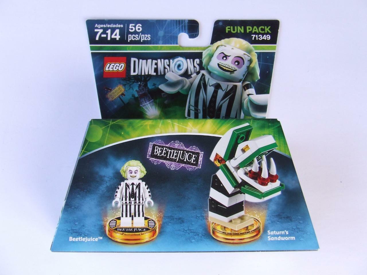 * New * Lego Dimensions Beetle Juice ( Fun Pack 71349 )