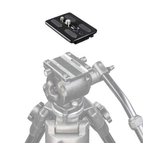 1//4 Zoll Gewinde walimex pro Schnellwechselplatte für Video-Stativ EI-717