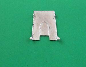 Dinky-portador-de-coche-rampa-No-984-985-blanco-pieza-fundida-metalica-piezas-de-repuesto