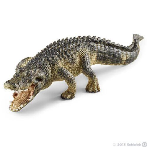 Schleich 14727 Alligator 18 cm série milieux aquatiques