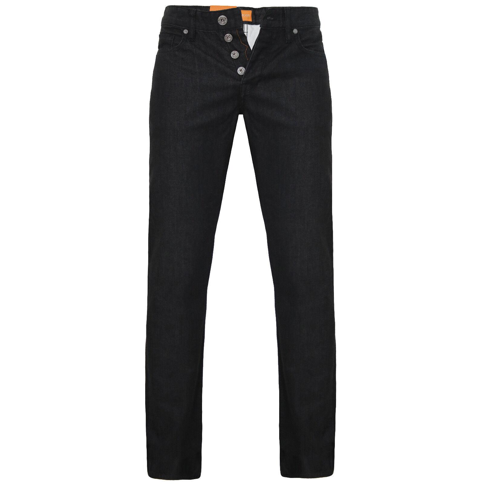 BOSS Orange  Hose Jeans Orange 25 schwarz rigit  W38 L36 NEU REGULAR FIT