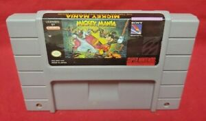 Mickey-Mania-Timeless-Authentic-Super-Nintendo-SNES-Game-Works-Tested